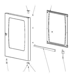 Комплект стеклянных панелей SCC 101 начиная с 09/2016 87.01.412
