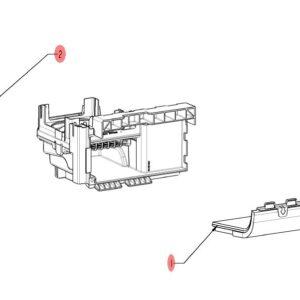 03 воздушный фильтр в сборе iCombi Pro