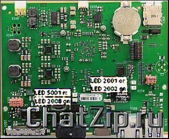 Плата процессора (без SD-карты) LM1; LMX1 LMX2  начиная с 03/2020 42.00.251P