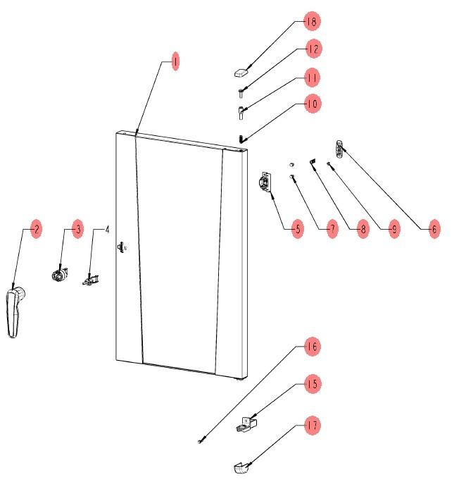 дверь iCombi Pro внешняя часть