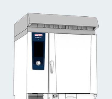 Конденсационный вытяжной зонт Ultra Vent Plus Для тип 6-1/1, 10-1/1 электрический, 230 B 60.75.142