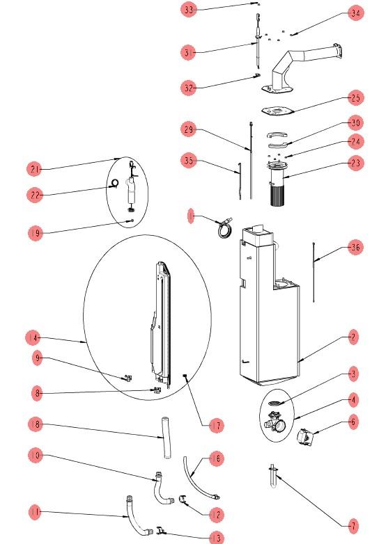парогенератор газового iCombi Pro