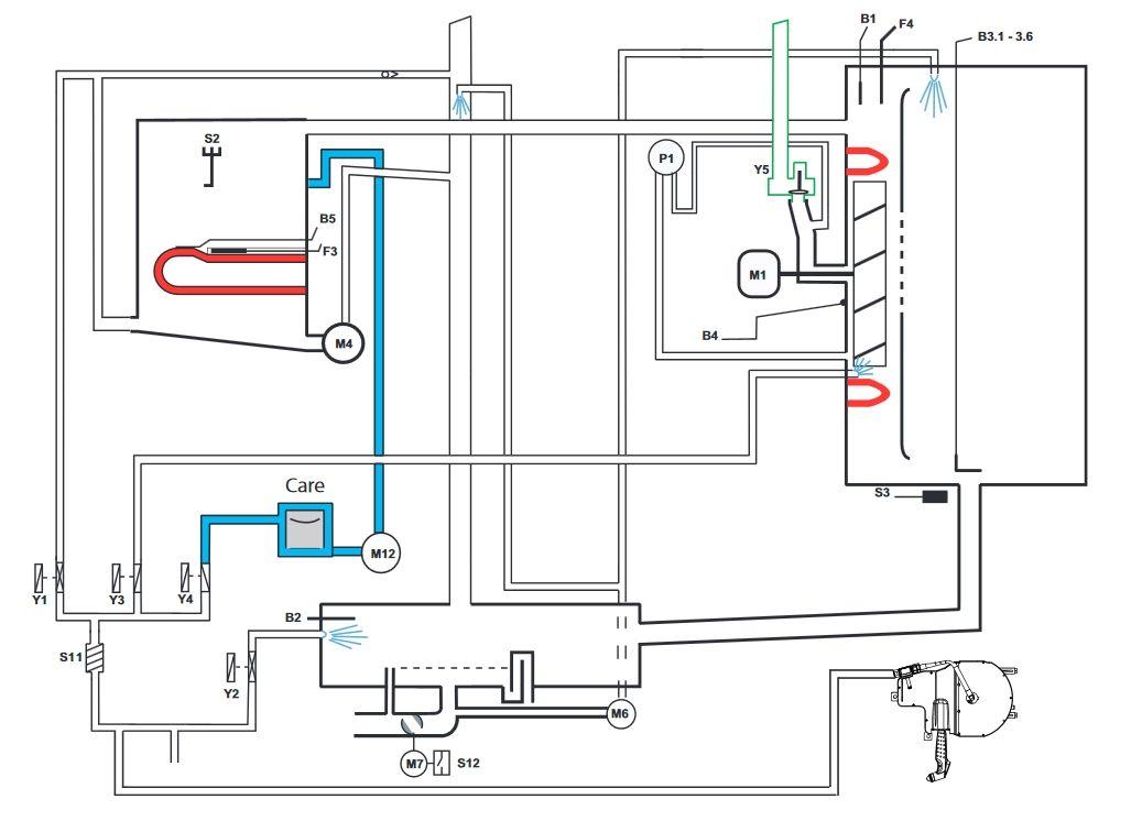 Функциональная схема электрической модели Whitefficiency/ 5Senses 2011-2020