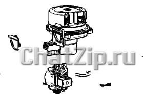 Комплект нагнетателя с газовым клапаном LM1 LM2; B-D(G) начиная с 03/2020 70.01.427P