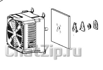 Мотор вентилятора LM1/LM2 61-202E 400-480B 450Вт начиная с 03/2020 87.01.587S
