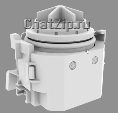 Сливной насос коллектора очистки LM1 LM2; B-G начиная с 03/2020 56.01.017P