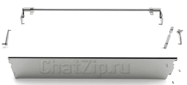 Ремкомплект уплотняющей пластины двери RATIONAL 201 начиная с 04/2004 87.00.653