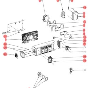 схема электроустановки iVario Pro